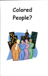 Colored People Booklet Cover
